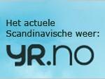YR, actuele weersinformatie Scandinavië